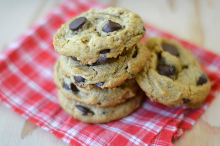 Flourless Peanut Butter Chocolate Chip Cookies, Gluten Free   The View from Great Island 7