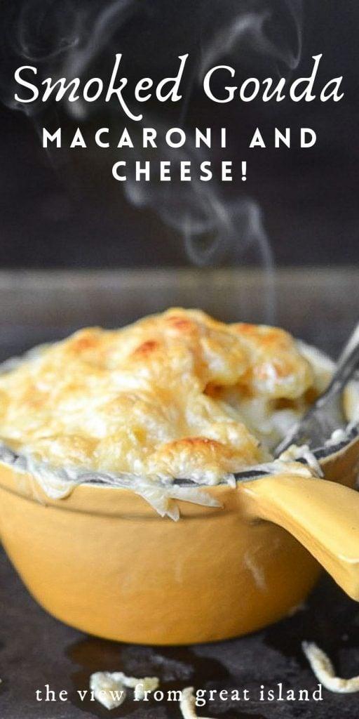 smoked gouda mac and cheese pin