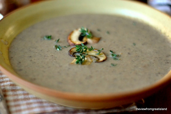 Wild Mushroom Soup 3