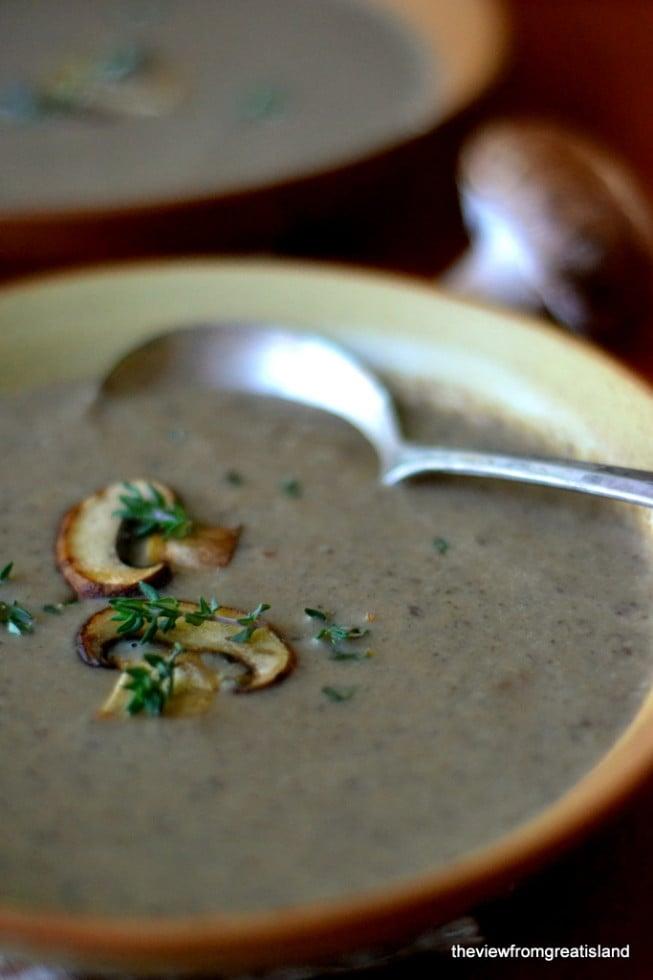 Wild Mushroom Soup 4