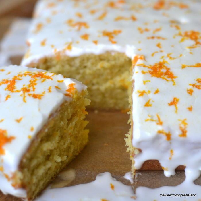 Fresh Tangerine Cake square