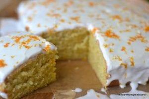 tangerine cake 1