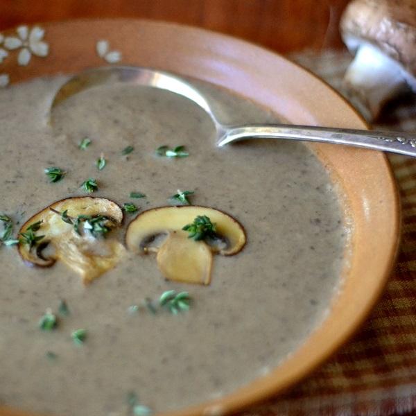 Wild Mushroom Soup square