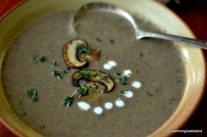 Wild Mushroom Soup 2