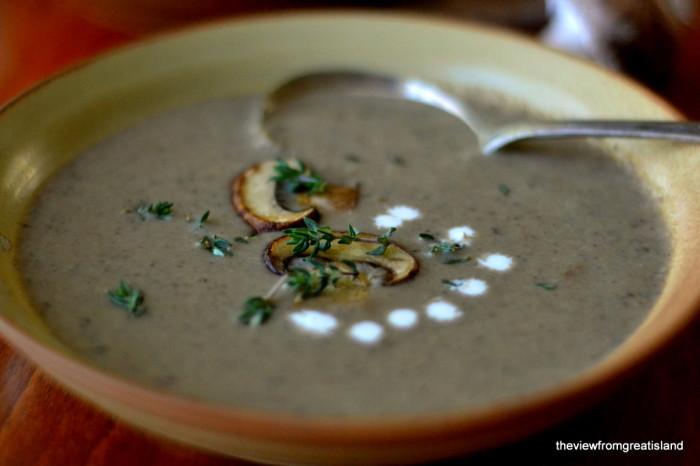 Wild Mushroom Soup 1