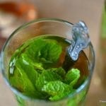 Sweet Moroccan Mint Tea
