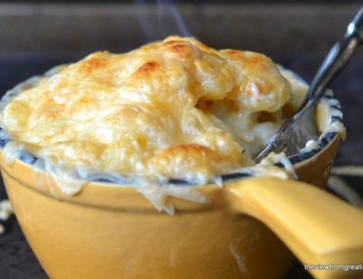 Smokey Gouda Mac and Cheese, cropped