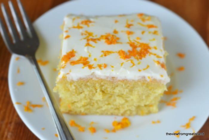 Tangerine Cake 3