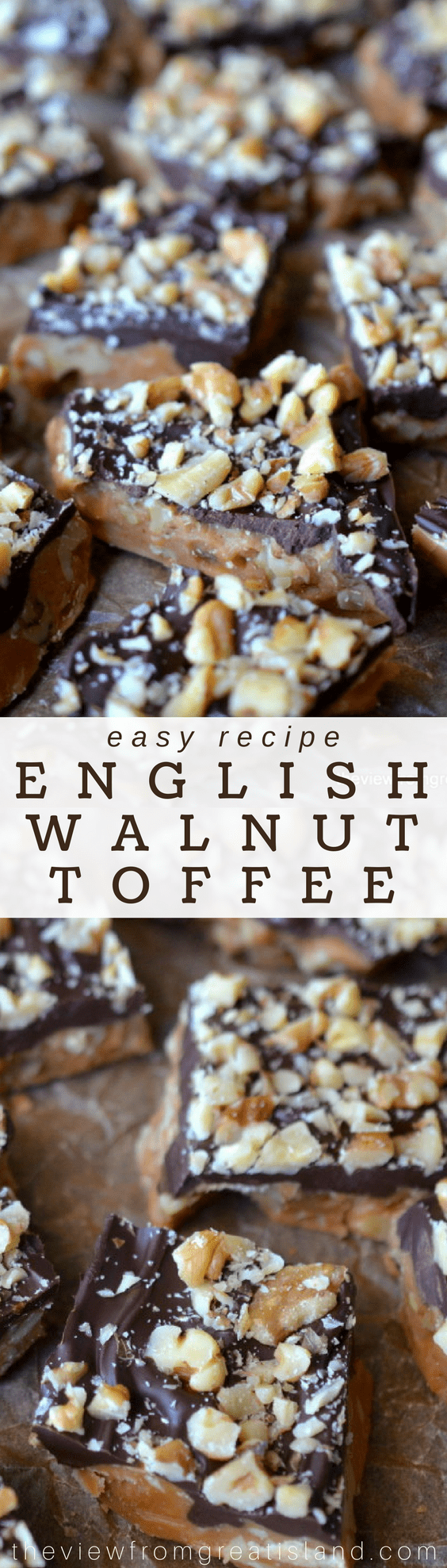 English Walnut Toffee pin
