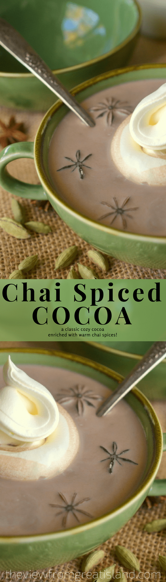 Chai Spiced Cocoa~pin