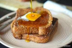 Gingerbread French Toast