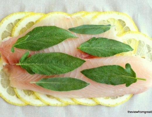 Roberta's Lemon Herb Fish