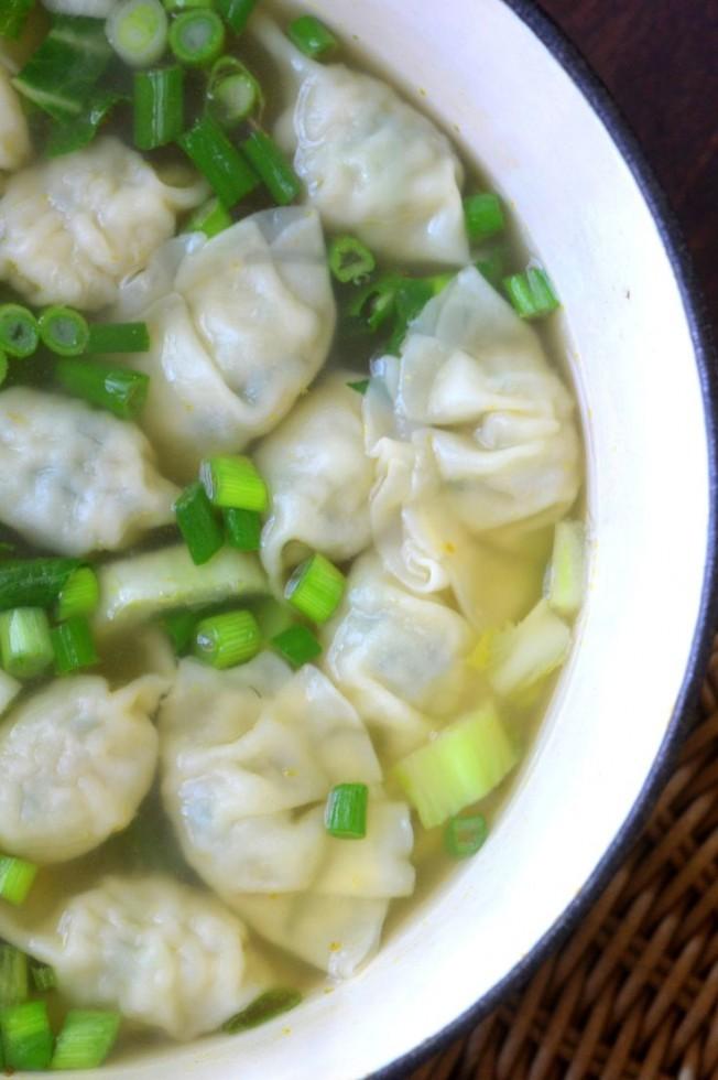 miso wonton soup