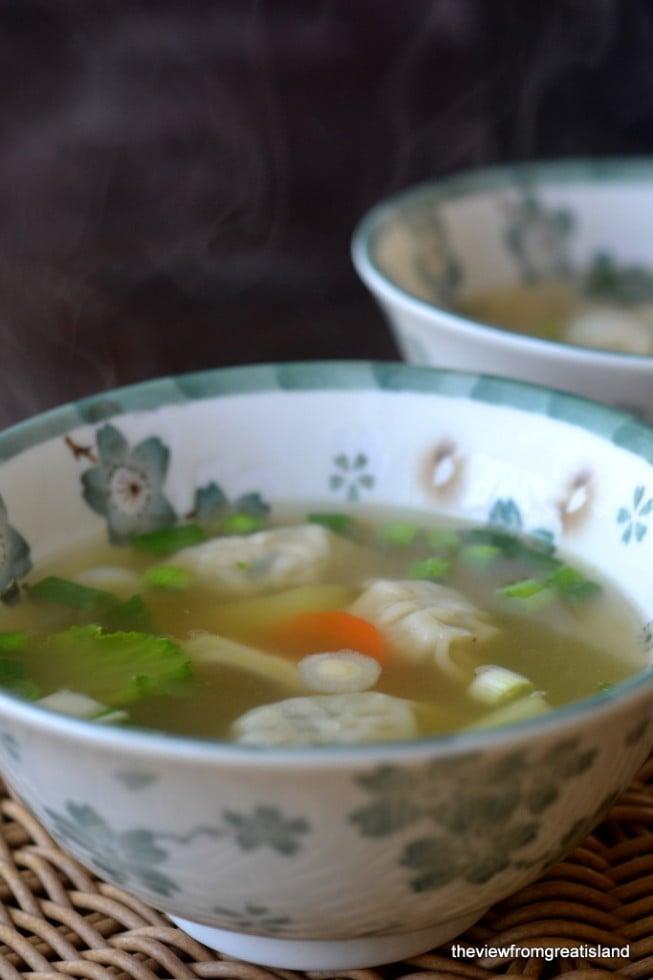 Miso Wonton Soup 3