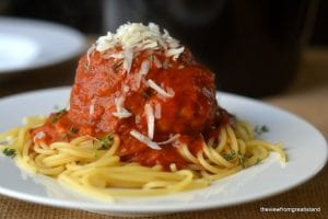 Spaghetti and Gian Meatballs 2
