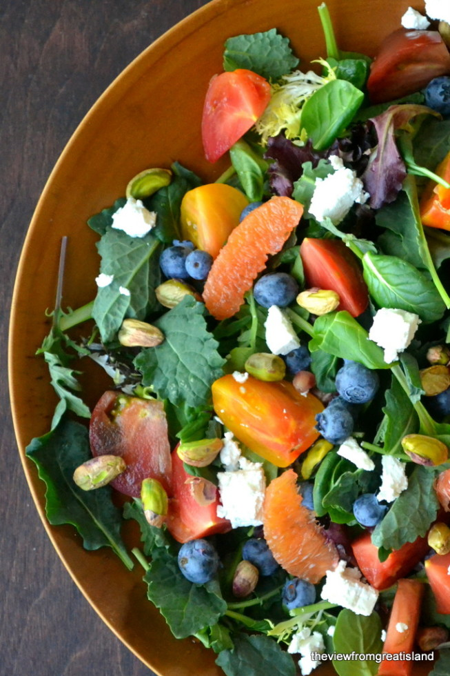 A healthy detox salad to help give you a new start