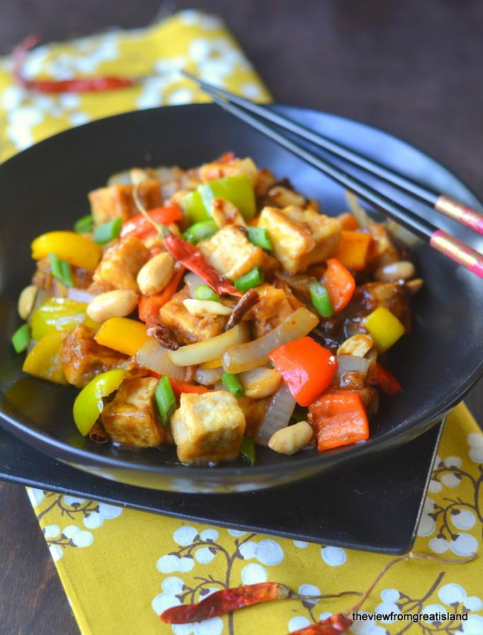 Kung Pao Tofu 4