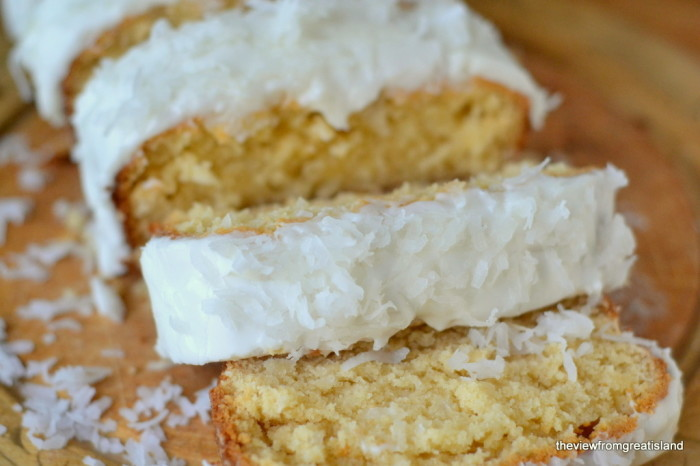 Triple Coconut Pound Cake 6