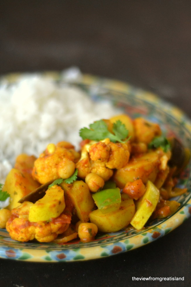 Vegetable Vindaloo