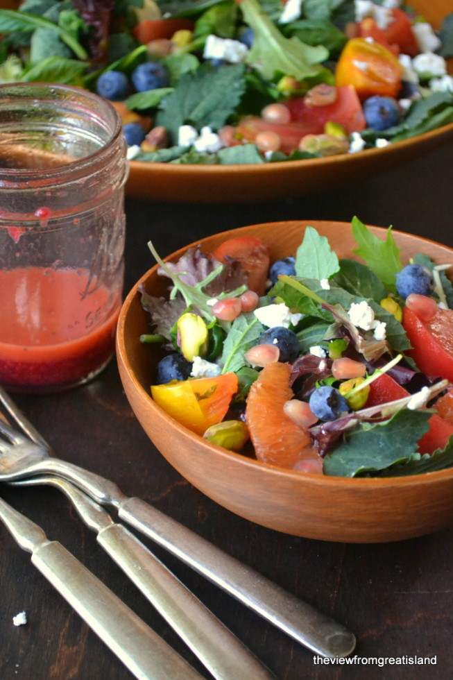 A healthy Detox Salad to get you started on the right track!