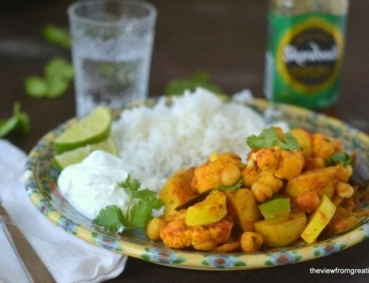 Vindaloo Vegetables 3