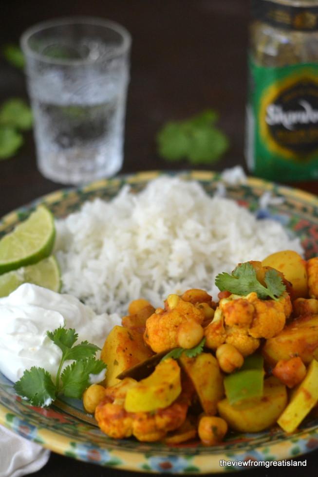 Vegetable Vindaloo Curry 2