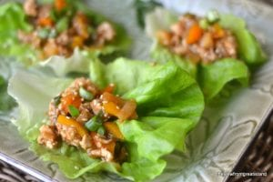 Spicy Ginger Lettuce Wraps 5