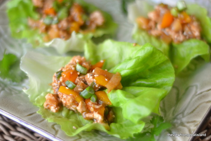 Spicy Asian Lettuce Wraps 2