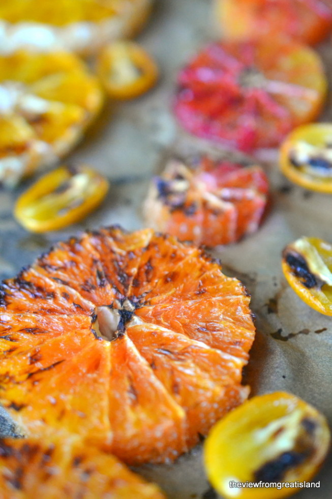 Broiled Citrus Fruit 1