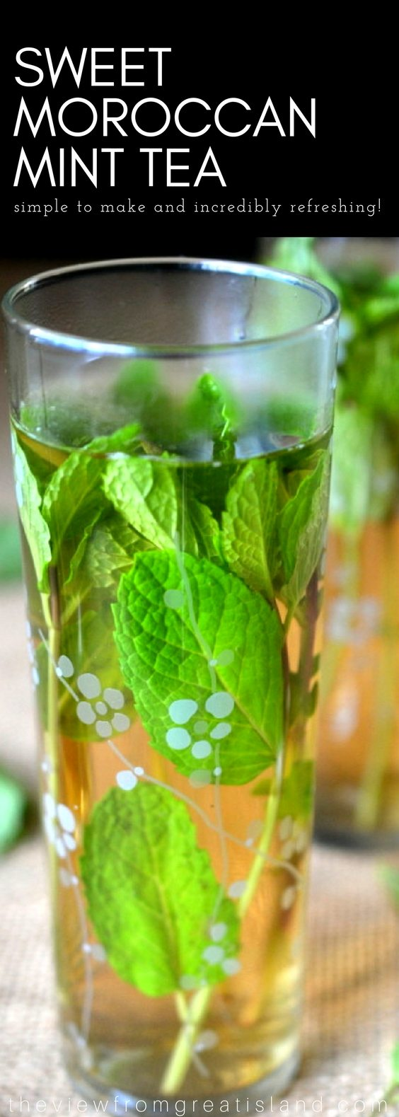 Sweet Moroccan Mint Tea (Hot or Iced) pin