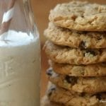 Flourless Cashew Butter Chocolate Chip Cookies