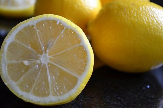 Fresh lemons for Avgolemono Soup