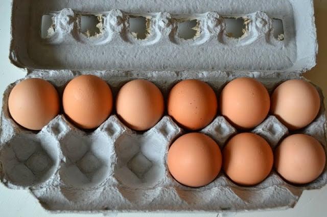 eggs for Avgolemono Soup