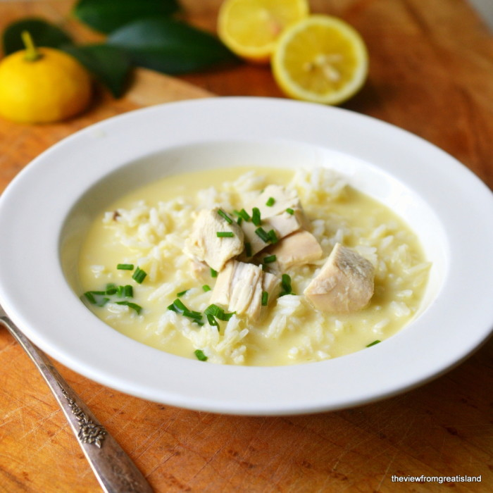 Avgolemono Soup 6
