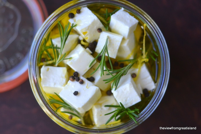 Marinated Feta with Grapfruit and Rosemary 5