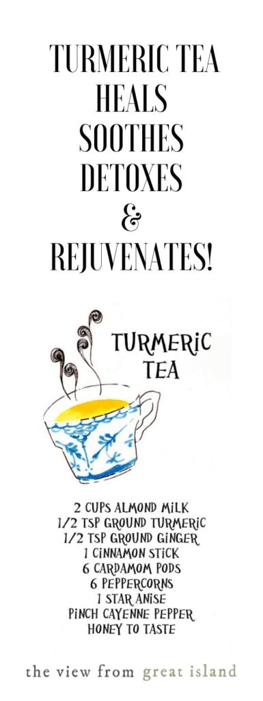 turmeric tea pin
