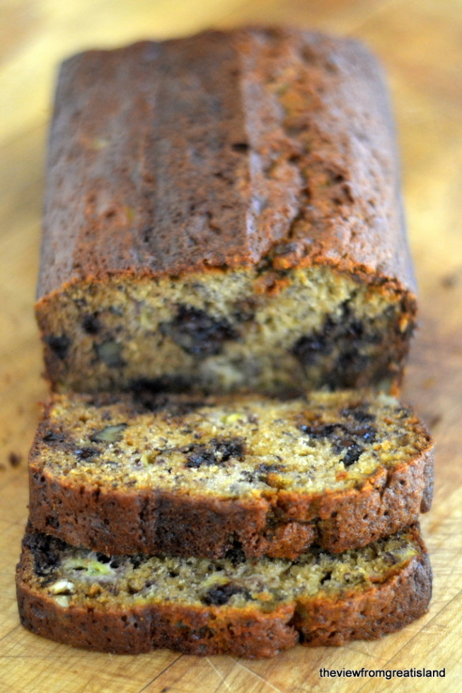 Chocolate chip banana bread chocolate chip banana bread 1 forumfinder Gallery