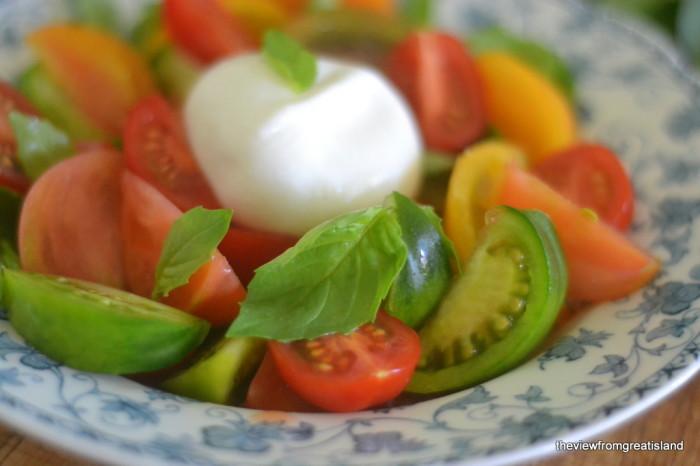 Tomato Burrata Salad 6