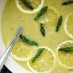 Lemony Asparagus Soup