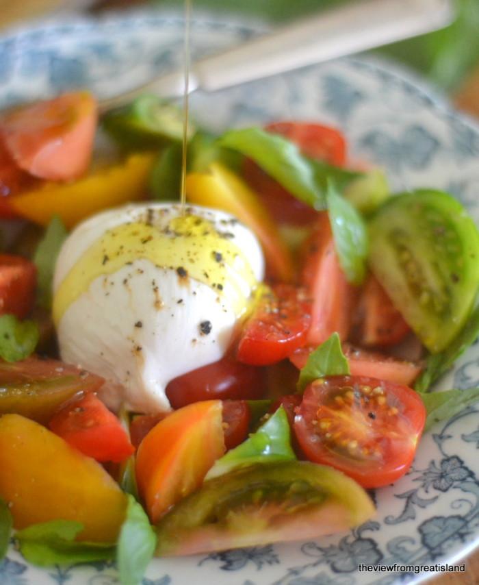 Tomato Burrata Salad 8