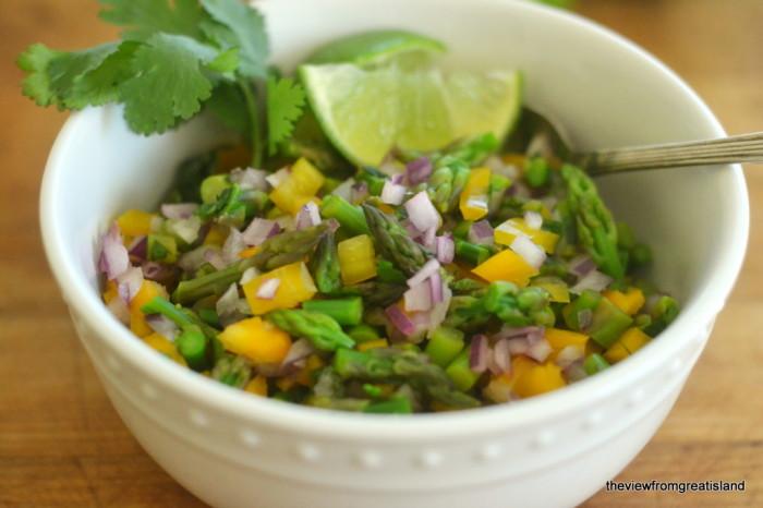 asparagus salsa 1