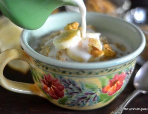 Chai oatmeal 1
