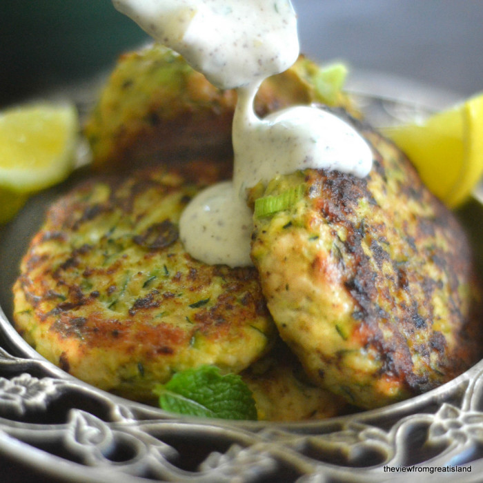 Turkey & Zucchini Burgers with Green Onion and Cumin 11