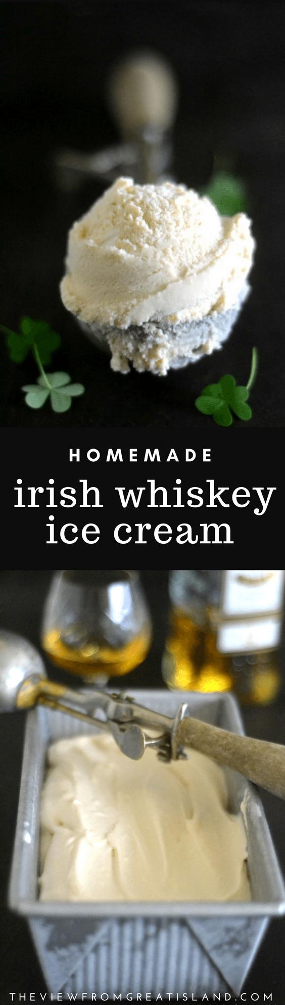 Irish Whiskey Ice Cream pin