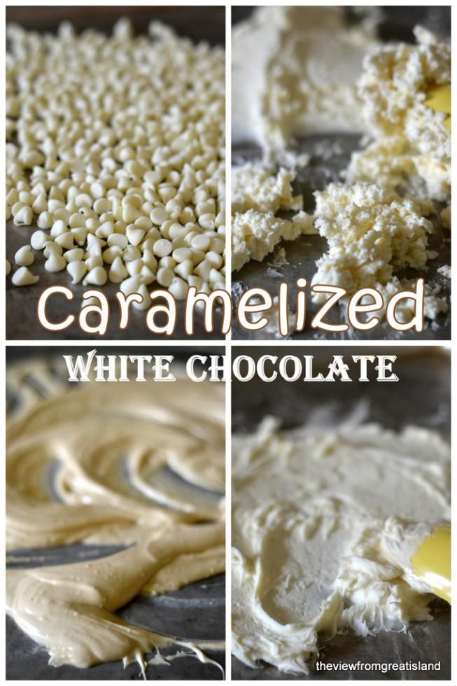 Caramelized White Chocolate