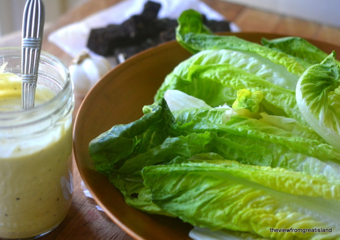 30-Second Homemade Ceasar Salad Dressing