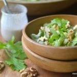 Minimal Monday: Celery Salad with Walnut Vinaigrette