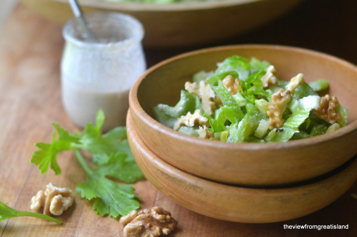 Celery Salad with Walnut Vinaigrette 8