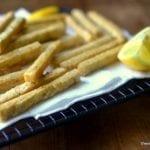Chickpea Fries with Yogurt Tahini Dip