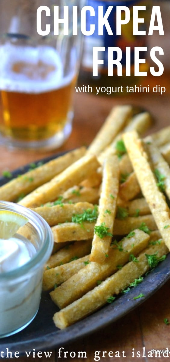 Chickpea Fries pin